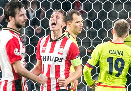 PSV bij laatste zestien op miljoenenbal