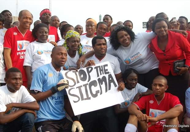 Kanu, Okocha vs MI, Saka: Celebrities play for life to bring awareness to AIDS