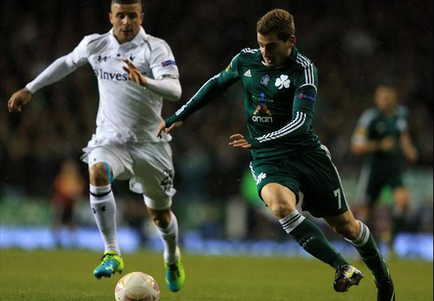 Tottenham 3-1 Panathinaikos: Villas-Boas' side overcome brief scare to reach knockout phase