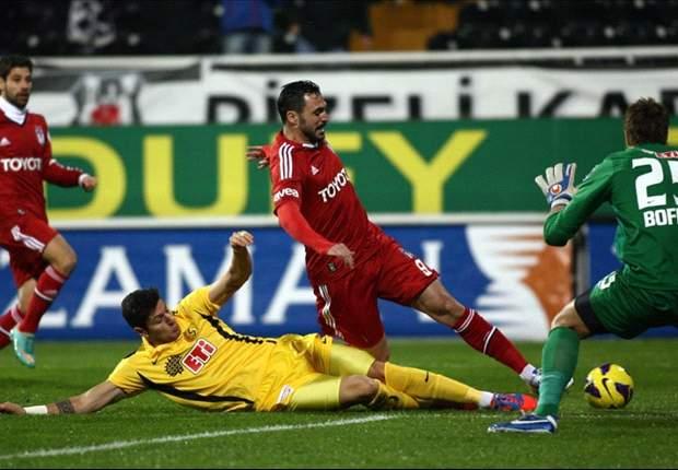 Unentschieden gegen Eskisehirspor: Besiktas verspielt 2:0-Führung