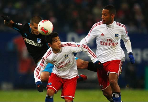 Hamburgo 2 x 0 Hoffenheim: Rudnevs marca dois gols e mandantes vencem