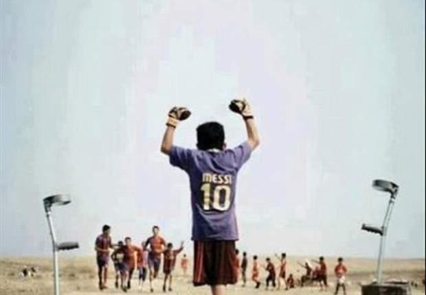 Se estrena el cortometraje 'Baghdad Messi'