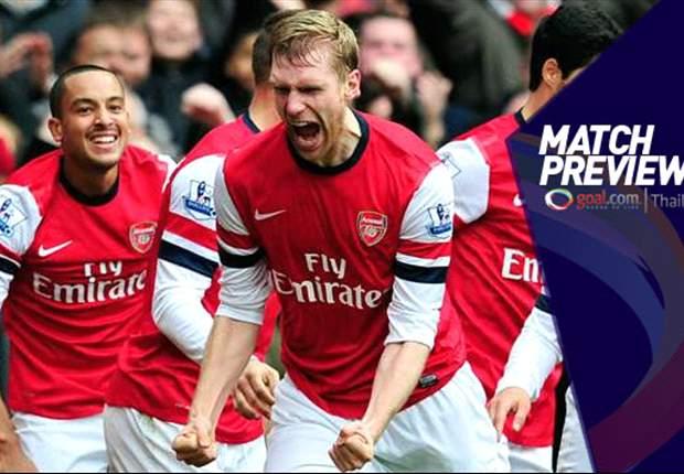 Arsenal, opción muy bien pagada ante el colista