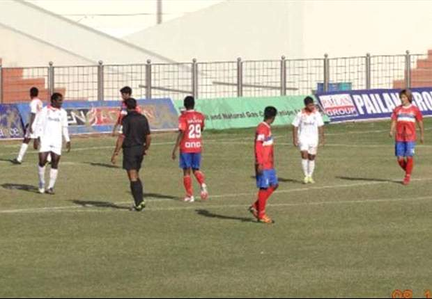 ONGC FC 2-2 Sporting Clube de Goa: A second half comeback from the visitors results in a draw