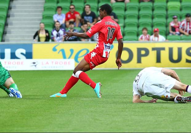 Golgol Mebrahtu's decisive impact against Perth pleased coach John Aloisi