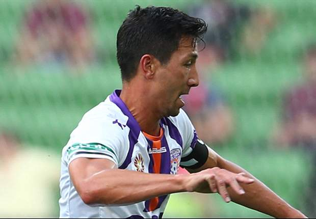 John Aloisi was left unhappy with Jacob Burns after the pair exchanged words on Saturday