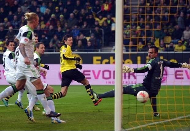 Schlägt Robert Lewandowski gegen den VfL Wolfsburg wieder zu?