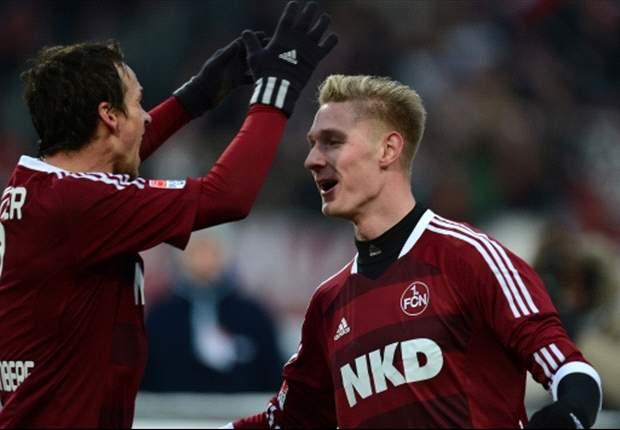 Nürnberg gewinnt souverän - 2:0 gegen Düsseldorf