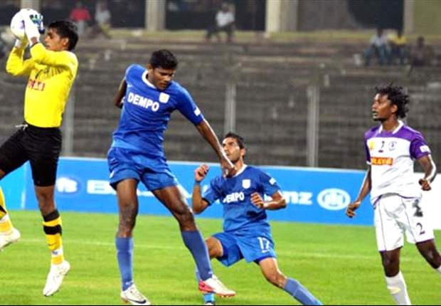 Dempo SC 3-1 Prayag United SC: The Goans come from behind to dismantle Eelco Schattorie's side