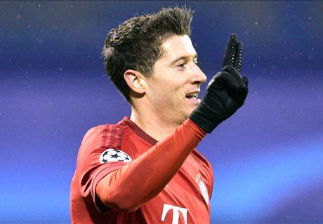 Dinamo Zagreb 0-2 Bayern: Lewy double
