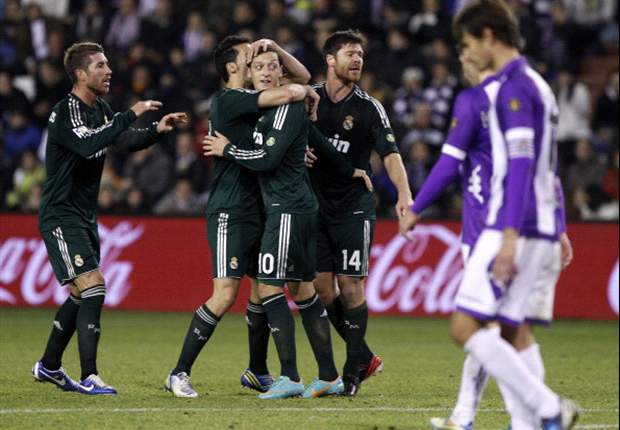 Laporan Pertandingan: Real Valladolid 2-3 Real Madrid