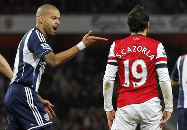West Brom's Reid 'played with a broken leg' against Arsenal