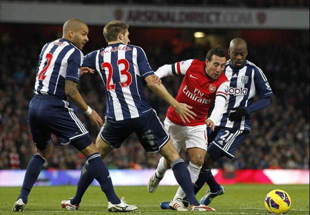 Clarke: West Brom won't use Cazorla's dive as motivation