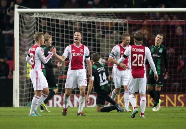 Ajax Amsterdam Bekap FC Groningen