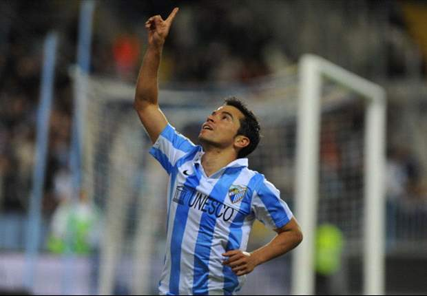 Malaga's Saviola focused on Porto test