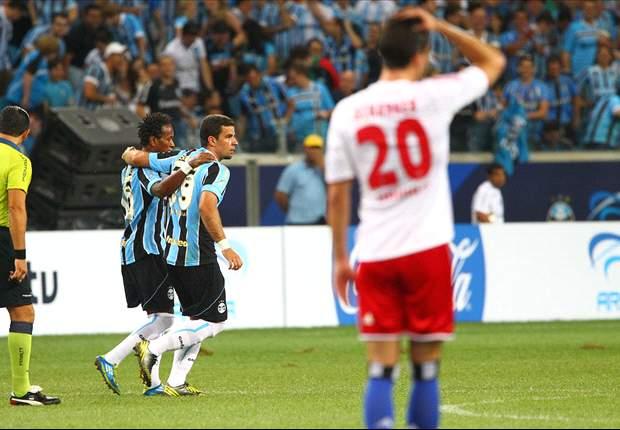Grêmio 2 x 1 Hamburgo: Tricolor sofre, mas consegue resultado positivo na estreia da Arena