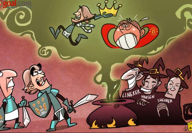 Cartoon of the Day: Sir Alex, Mancini & Platt star in Mancbeth