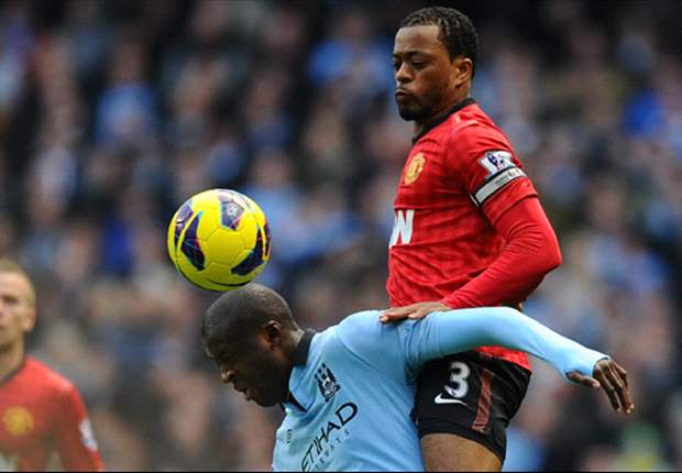 Evra: Manchester United aren't concerned with City