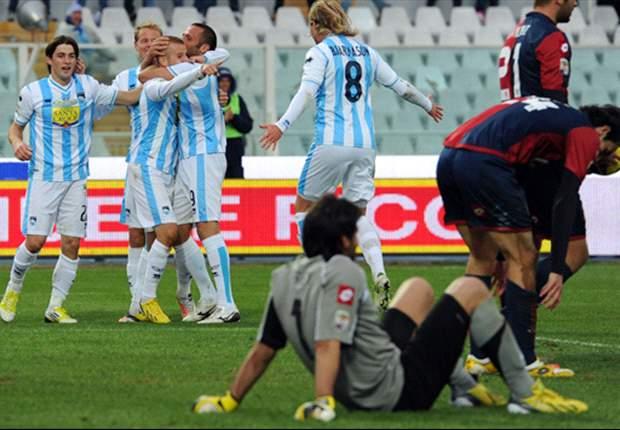 REVIEW Serie A Italia: Siena-Cagliari Tersungkur Di Kandang