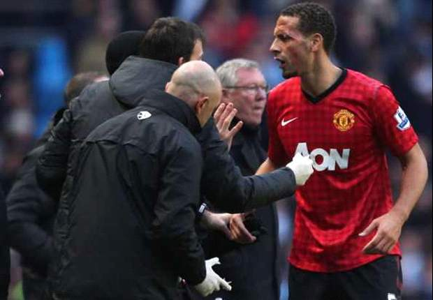 Coin could have taken Ferdinand's eye out, says Young