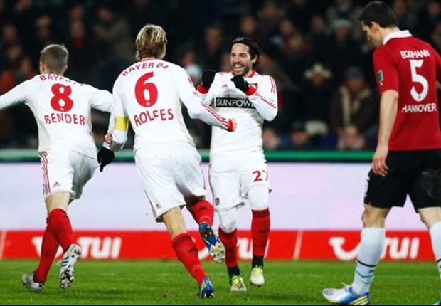Bayer Leverkusen Gagal Jaga Jarak