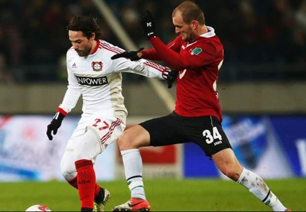 Hannover siegt dank Elfmeter-Held Huszti gegen Leverkusen