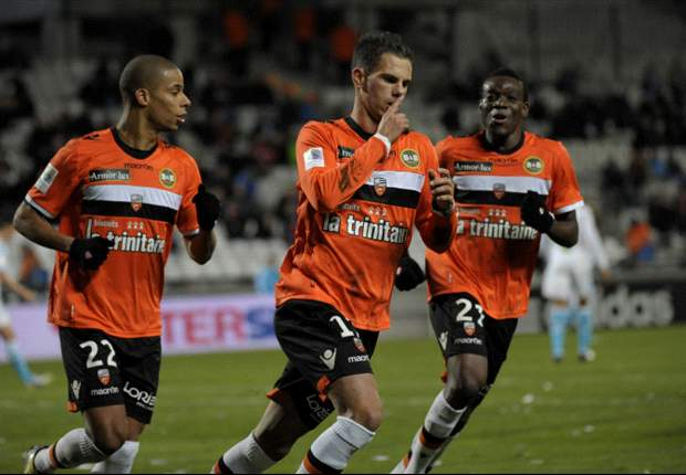 Gasak Saint-Etienne, Lorient Ke Empat Besar