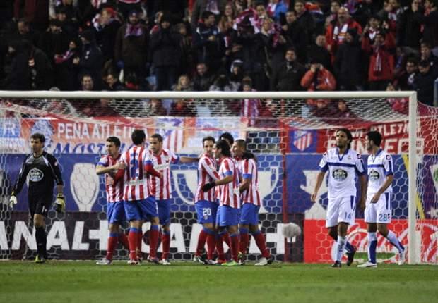 Roundup Primera Divison: Levante schießt Mallorca ab, Falcao erniedrigt La Coruna