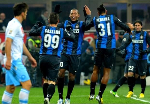 Inter Mailand schlägt SSC Neapel mit 2:1 und sichert sich Platz zwei