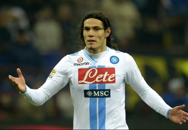 Cavani admits 'worst' period of his career at Napoli