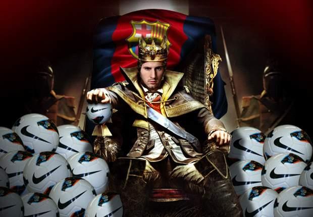 Lionel Messi se convierte en 'El Emperador del Gol'