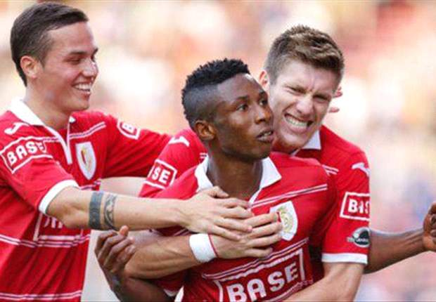 Imoh Ezekiel wraps up 2012 with another goal for Standard Liege as he scored in his fifth consecutive game in Belgium