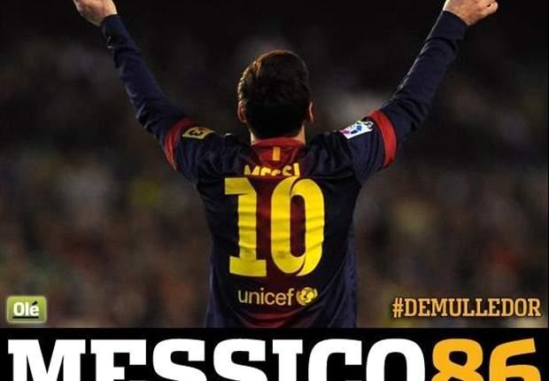 """ESP - Eto'o : """"Messi est un dieu"""""""