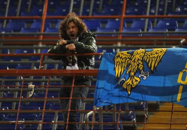 Gustoso siparietto a 'Marassi', un solo tifoso dell'Udinese occupa l'intero settore ospiti dell'impianto genovese