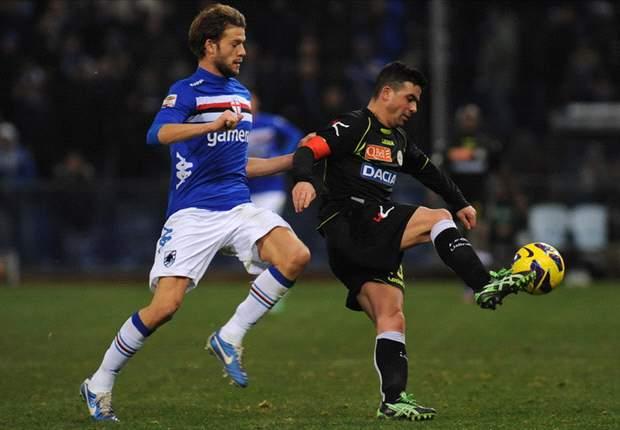 """L'Udinese vista a 'Marassi' ha soddisfatto il ds Larini: """"La squadra sta crescendo, ci vuole pazienza"""""""