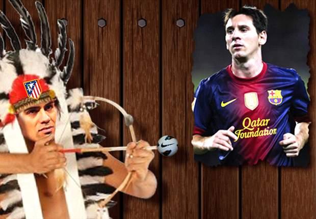 Radamel Falcao quiere 'cazar' a Lionel Messi