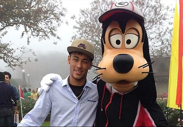 Neymar, en un mundo mágico