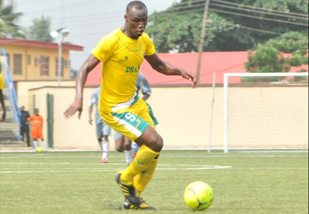 Gambo Mohammed playing for Kano Pillars