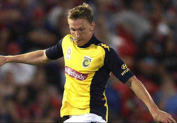 Mariners striker McBreen ready for Guangzhou test