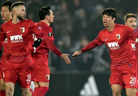 Partizan 1-3 Augsburg: Late decider