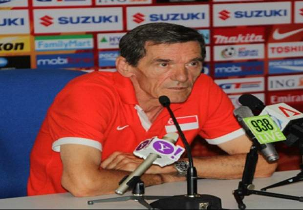 'In football you can't guarantee anything' - Raddy Avramovic on Singapore's chances in second leg of Suzuki Cup semi-final