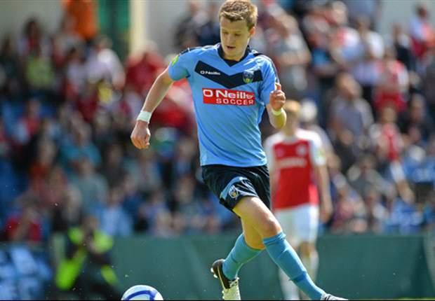 Corry becomes latest League of Ireland graduate