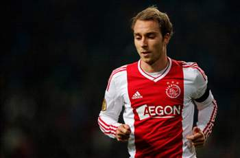 No agreement with Liverpool for Eriksen just yet, says Ajax
