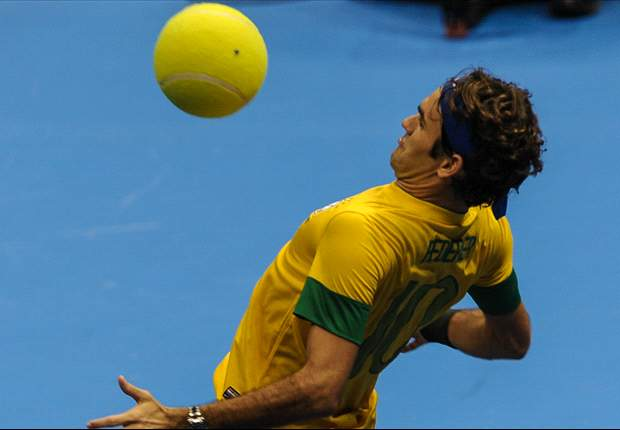 """Roger Federer: """"Me gustaría ver el estadio de Boca Juniors e ir a jugar al fútbol con Del Potro"""""""