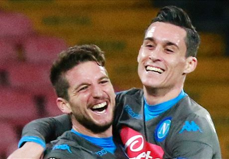 Napoli are the team to FEAR in Europe