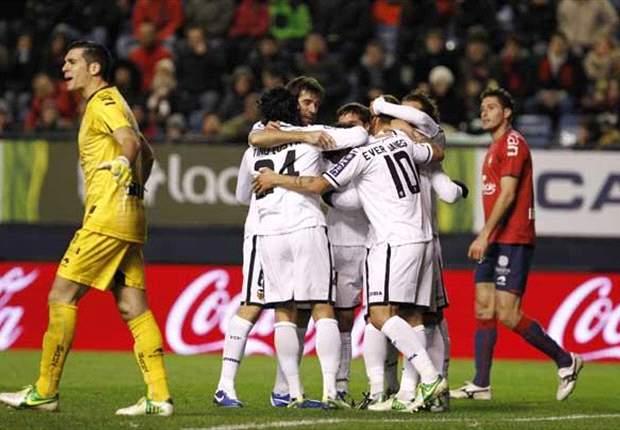 Copa Del Rey: Bungkam Osasuna, Valencia Ayunkan Satu Kaki Ke Perempat-Final