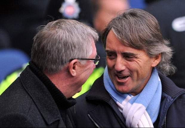 I always win - Mancini warns Sir Alex that Manchester City are hungry for more trophies