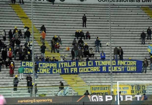 """Coppa Italia poco affascinante? I tifosi del Parma polemizzano con la Lega Calcio: """"Giocare a quest'ora..."""""""