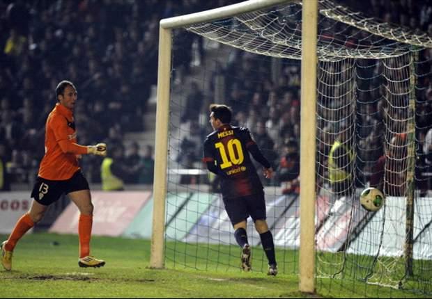 Barcelona nach 2:0-Sieg in Cordoba mit einem Bein in der nächsten Runde