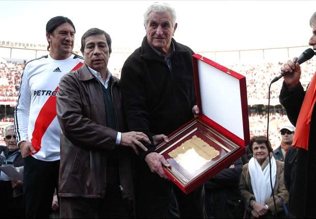 Amadeo Carrizo, dolido con Daniel Passarella
